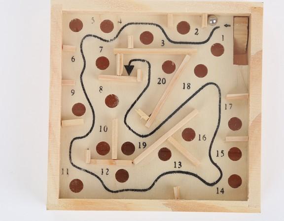 Hight-Qualidade-Pequeno-Engra-ado-M-o-nica-Criativo-Crian-as-Eduactional-Brinquedo-Labirinto-De-Madeira